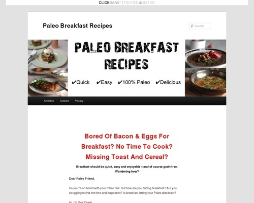 - Paleo Breakfast RecipesPaleo Breakfast Recipes