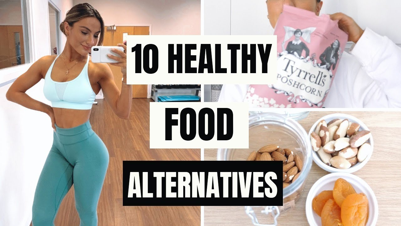 10 HEALTHY FOOD ALTERNATIVES THAT KEEP ME ON TRACK | Krissy Cela