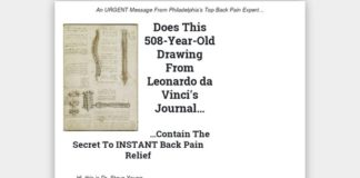 Instant Back Pain Relief