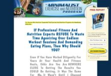 The Minimalist Exercise And Nutrition Program