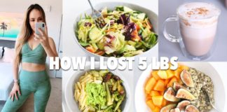 HOW I LOST 5 LBS FAST (WHAT I EAT + WORKOUTS) | quick healthy recipes + easy point system