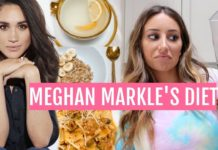 I ATE LIKE MEGHAN MARKLE FOR THE DAY...this is what happened..