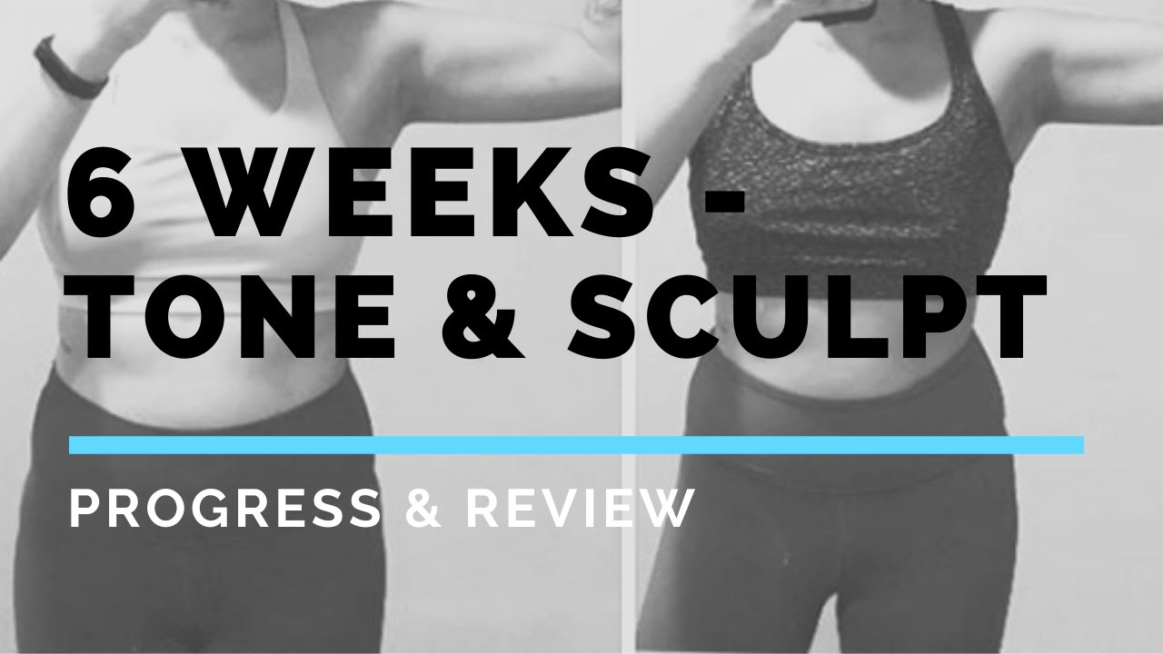6 Week Review- Tone and Sculpt by Krissy Cela! Recovering & Strengthening from Whiplash Injury