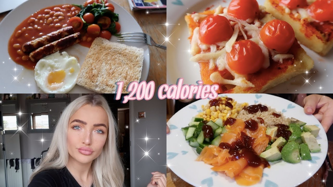 WHAT I EAT IN A DAY ON 1200 CALORIES