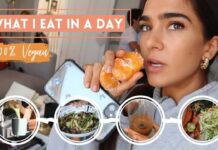 WHAT I EAT IN A DAY VEGAN | STEF FIT
