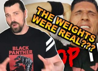 Pure Bullfit Defends ATHLEAN-X Fake Weights