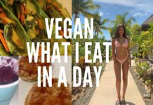 VEGAN WHAT I EAT IN A DAY! | India Grace