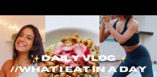PLANT BASED WHAT I EAT IN A DAY//DAILY VLOG