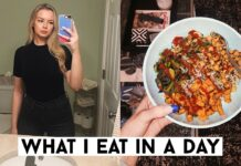 WHAT I EAT IN A DAY TO LOSE WEIGHT | October 2019