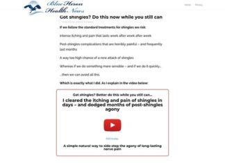 Solutions for Shingles cb vsl   Blue Heron Health News