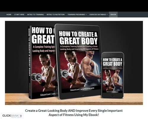 Download 'How to Create a Great Body, Second Edition', by Edward Lord!